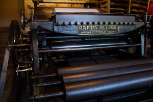 Electric printing press
