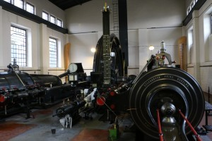 Steam winding engine – soundscape