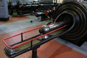 Steam winding engine – piston