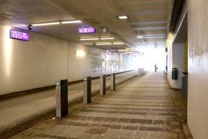 a Walk  Through the Rongankatu Underpass