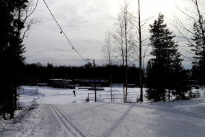 Skiing In The Kauppi