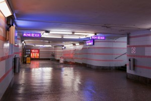 The Station Tunnel Of The Tampere Station