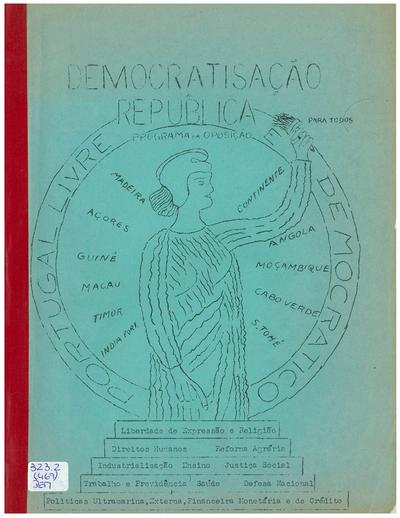 Democratisação [da] República: programa da oposição para todos