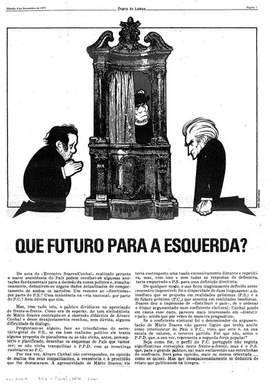 Que futuro para a esquerda?: [transcrição do debate televisivo]