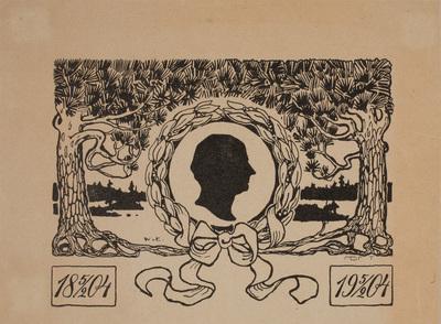 Werner von Essens komposition 1904.