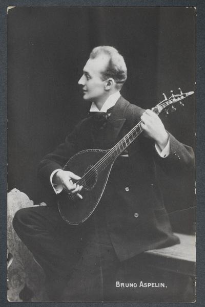 Bruno Aspelin (1870-1941), finländsk artist och vissångare.