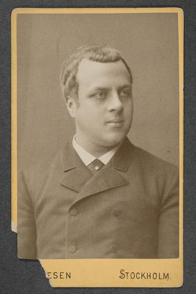 Victor Castegren (1861-1914), skådespelare, förste regissör.