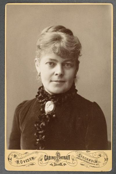 Anna de Wahl (1844-1889).