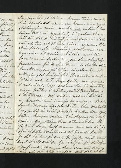 Paris, onsdag d. 1 Juli 1874.