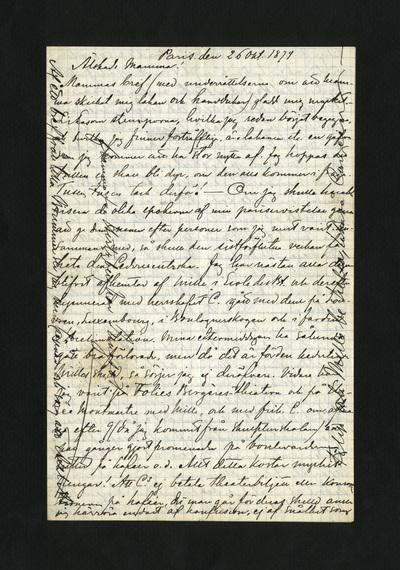 Paris. den 26 Okt. 1874