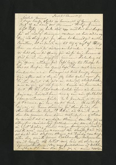 Paris d. 5 Februari 1877.