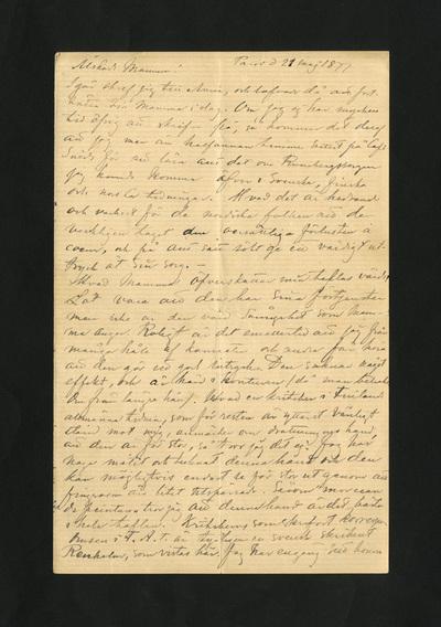 Paris d 21 maj 1877