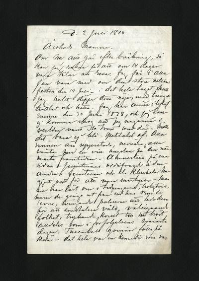 d. 2 Juli 1880