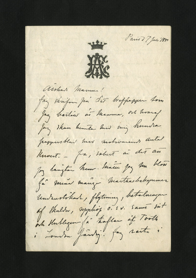 Paris d 7 Juli 1880