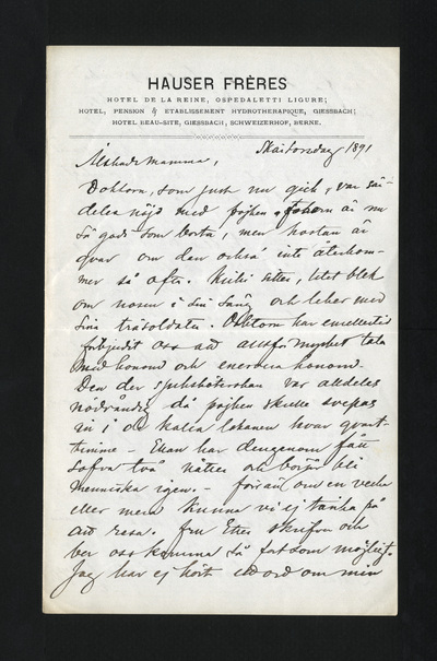 Skärtorsdag 1891