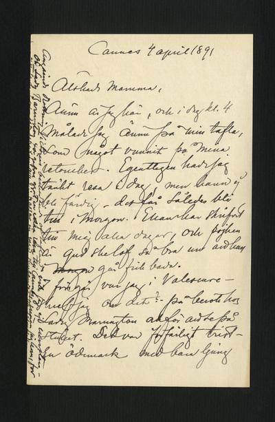 Cannes 4 april 1891