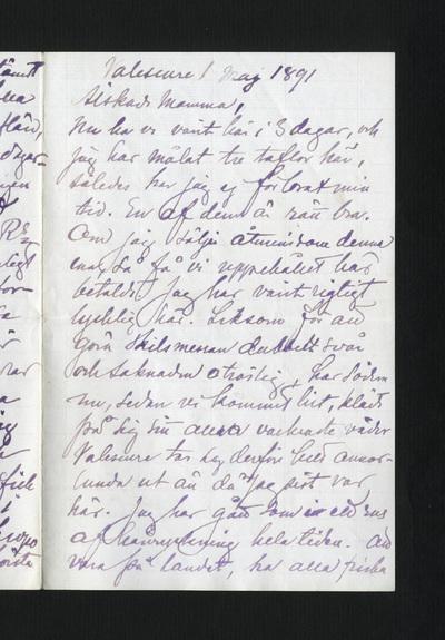 Valescure 1 maj 1891