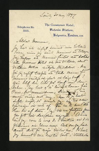Söndag 30 maj 1897