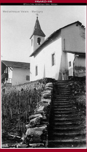 Chapelle de Saint-Ginier, Sierre