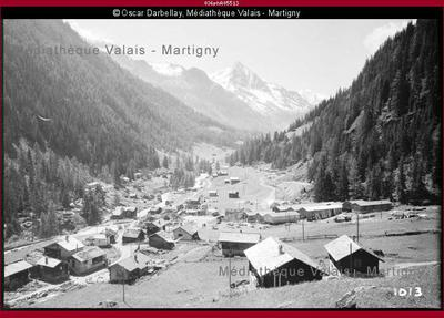 Vallon et hameau de Mottec, Val d'Anniviers