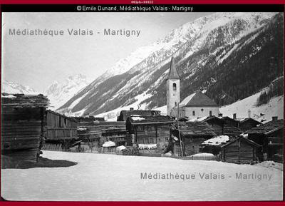 Kippel en hiver, Lötschental