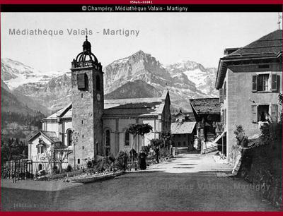 Village de Champéry, val d'Illiez