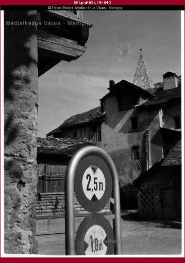 Quartier de Glarey, Sierre