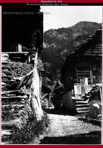 Village walser de Bosco Gurin, Tessin