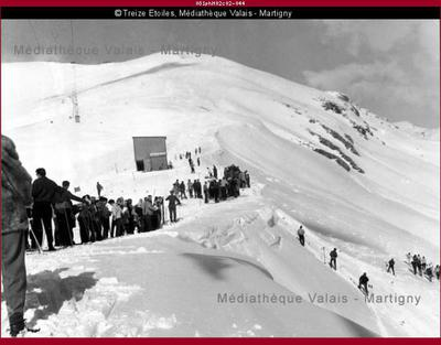 Piste de ski, Montana
