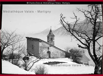 Chapelle Notre Dame des Neiges à Crételle, Randogne