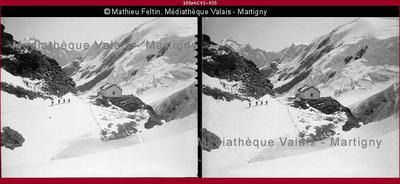 Ascension dans les Alpes bernoises