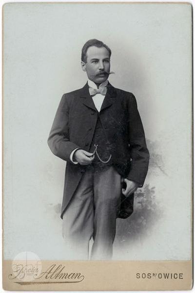 Portrait of Zygmunt Tadeusz Francman.