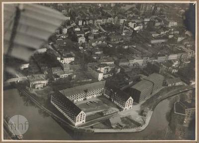 Medieval granaries in Bydgoszcz.