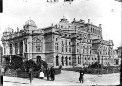 Krakow, Juliusz Słowacki Theatre.