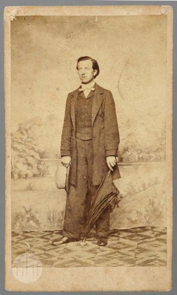 Portrait of Andrzej Watz.