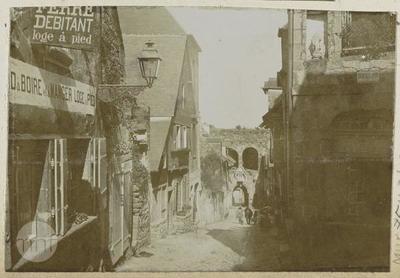 Normandy, Dinan, Jerzual street.