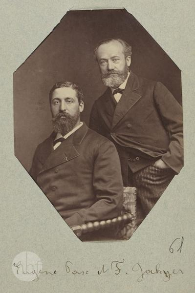Portrait of Eugene Pasc and F. Jochyer (?)
