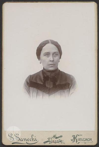Portrait of Apolonia Szczurek, nee Malke.
