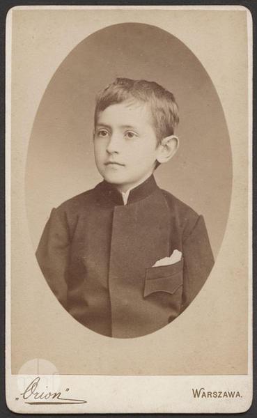 Portrait of Stanisław Słoński.
