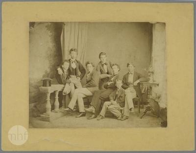 Group portrait of boys.