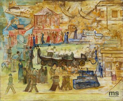 Karuzela, Le Carroussel, Przemarsz wojsk przez park, Wózki