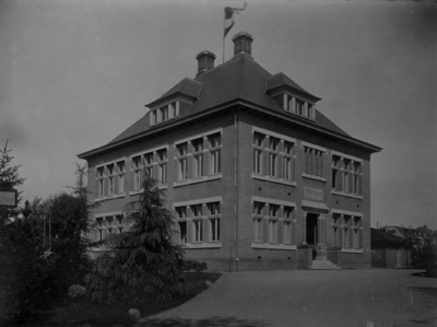 Schuttersweg. Gemeentelijk Gymnasium
