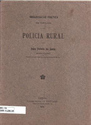 Organização prática em Portugal da Polícia Rural