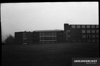 Vilhelm Lauritzens byggeri, Gladsaxe Skole, 1936/1937, gymnastikhal