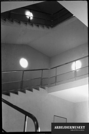 Vilhelm Lauritzens byggeri, Gladsaxe Rådhus, trapper
