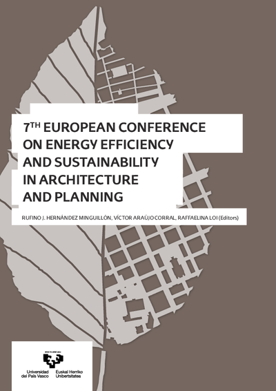 7th European Conference on Energy Efficiency and Sustainability in Architecture and Planning
