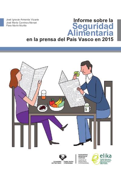 Informe sobre la Seguridad Alimentaria en la prensa del País Vasco en 2015