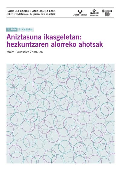 Aniztasuna ikasgeletan: hezkuntzaren alorreko ahotsak