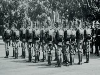 Vizita M. S. Regelui la Scoala Militara de Infanterie