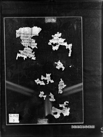 Papyrusseite aus den Nag-Hammadi-Schriften, Codex IV